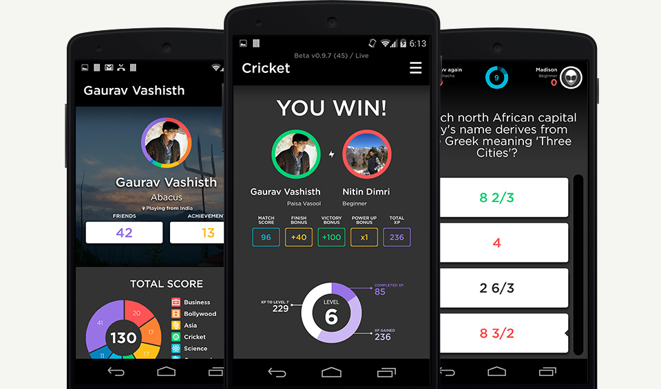Fueled's Quizup case study